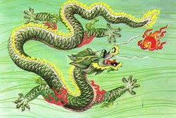 Naga sebagai mahluk yang mempunyai karma baik dan telah mencapai pembinaan kehidupan spiritual tahap tertentu, karena mereka telah melatih pembinaan spiritual yang sangat lama. Pencapaian spiritual yang lama ini menjadikan kaum naga memperoleh berkah dan kedudukan yang terhormat. Pencapaian dan karma baik yang dimiliki kaum naga, menjadikan banyak naga yang mendapatkan kesempatan untuk mengabdikan dirinya secara langsung sebagai pendamping dan pelindung Buddha, Bhodisatva, dan para mahluk suci lainnya. Sering kita melihat gambar Bodhisatva Kwan-Im sedang berdiri diatas naga yang mengantarkan kemana Sang Dewi pergi. Kaum naga memiliki berbagai macam ras yang berbeda-beda, dan setiap ras terbagi dalam dua gender yaitu lelaki dan wanita. Dimana naga lelaki mempunyai tanduk yang membesar dibagian atasnya, tetapi naga wanita mempunyai tanduk yang lebih ramping dan kadang mengecil dibagian atasnya. Selain itu naga lelaki mempunyai janggut yang berkilauan seperti mutiara di dagu dan pada lehernya. Dan naga wanita akan tampak berbeda pada bentuk hidungnya, yang lebih lurus. Dagu dan lehernya tidak memiliki janggut. Perlambangan energi naga pada Fung-Shui diakui energinya sebagai salah satu pelindung di sebelah kiri dan pembawa energi keberuntungan dengan perlambangan warna hijau atau biru. Sedangkan di sebelah kanan di lambangkan dengan energi macan. Penyatuan kedua energi yang saling melengkapi dapat membentuk suatu energi chi yang baik. Pada aliran Fung-Shui yang melambangkan arah angin dan musim, dikenal dengan istilah Naga Biru. Yang berarti naga timur dan merupakan perlambangan dari musim spring, dan awal tahun. Macan putih yang berarti macan barat dan merupakan perlambangan arah barat. Naga merupakan salah satu dari mahluk alam lain yang sangat unik dalam memilih lokasi. Mereka tidak akan sembarang, bahkan dapat dibilang benar-benar sangat berhati-hati dalam menilai dan memperhitungkan lokasi tempat kediamannya. Sehingga tempat dan lokasi yang disukai oleh kaum naga, 