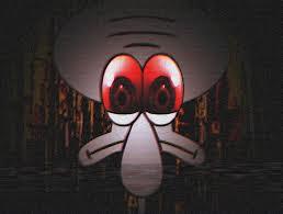 squidward red mist,video yang diramaikan didunia maya,yang katanya dapat menghipnotis seseorang