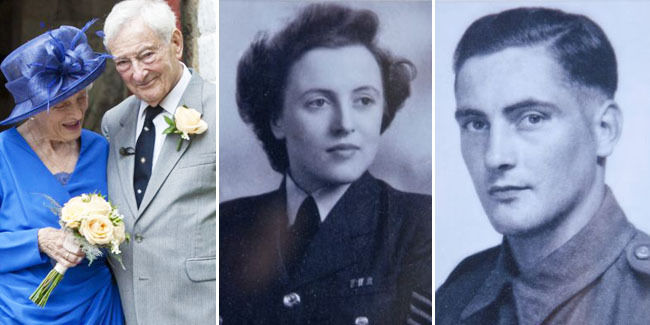 Cinta Terhalang Perang Dunia, Pasangan Ini Akhirnya Menikah