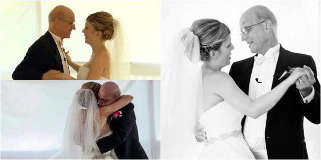 Meski Sekarat, Ayah Sempatkan Berdansa Untuk Pernikahan Putrinya