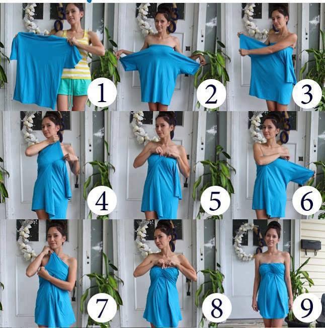 Материалы из чего можно сшить платье
