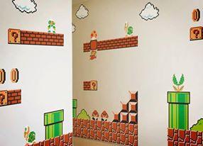 Rumah Mario Bros! Siapa yang mau memiliki rumah penuh tantangan Mario Bros ini? Wownya jangan lupa ya!