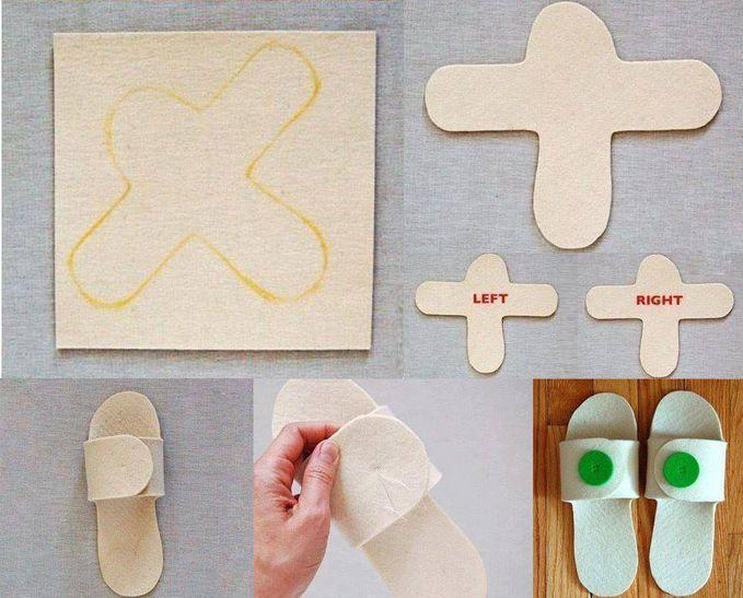 Cara membuat sendal dari bahan sponge yang halus . wownya jangan lupa ya