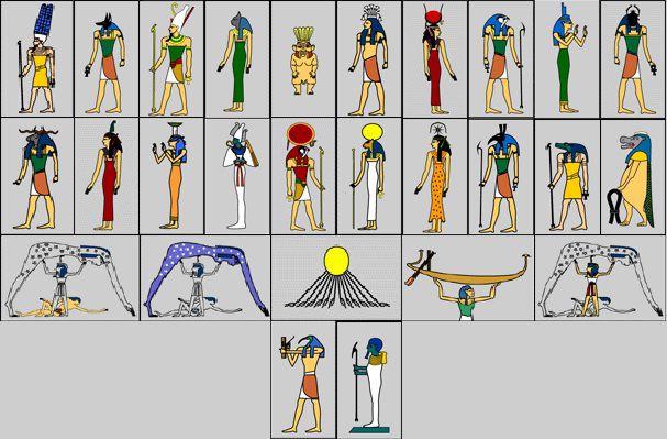 29Dewa dan Dewi mesir kuno