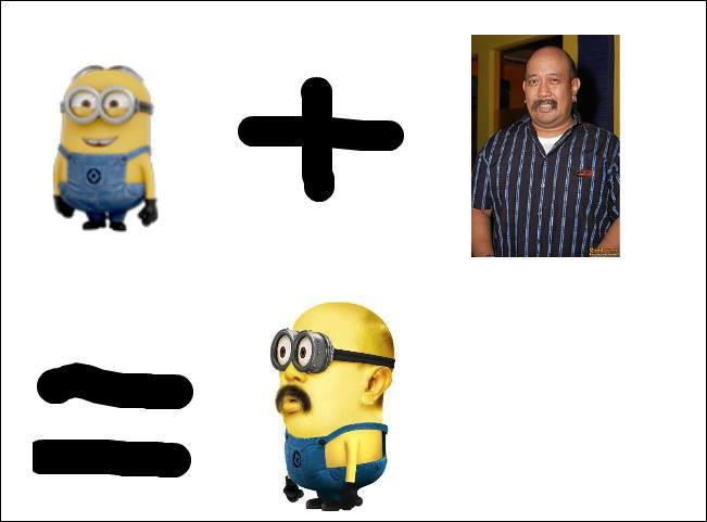 Minions + Indro Warkop = MiniNdro ? ==..==