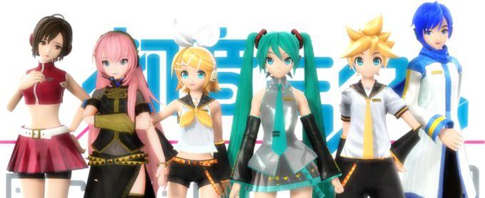 gambar Vocaloid versi Project DIVA