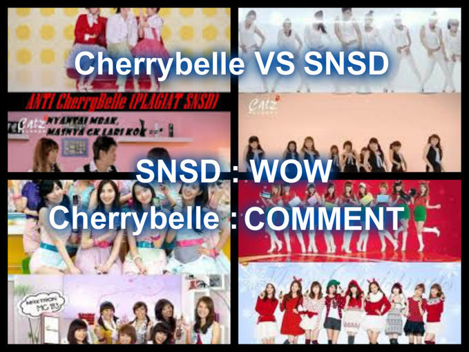 Cherrybelle VS Girls Generation SNSD : WOW CHIBI : KOMENTAR