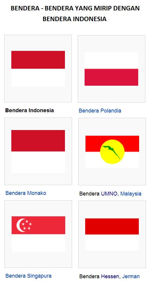 Agan-agan sekalian, Bisa bedakan gak antara bendera Indonesia dengan Bendera Monako atau juga dengan Bendera Hessen (negara bagian Jerman)...??? yg Tau mohon dibagi ilmunya...