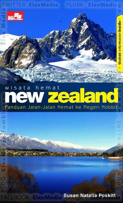 Panduan praktis jalan2 hemat ke NZ. Lengkap dgn info akomodasi, transportasi, kuliner, objek menarik, & jg wisata setting Lord of The Rings & The Hobbit WISATA HEMAT: New Zealand http://ow.ly/o5cGp mobile http://ow.ly/o5dbi Harga: Rp. 62,800