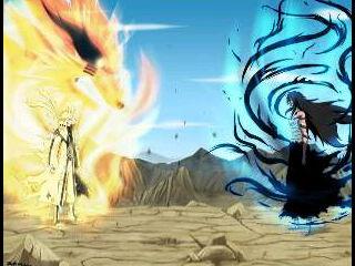 Naruto kurama VS Ichigo Hollow Pilih yang mana???? JANGAN LUPA WOW nya ya