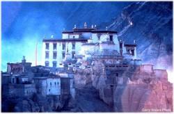Inikah Gambaran Dari Agharta? Kota yang diduga Berada di Dalam Perut Bumi.