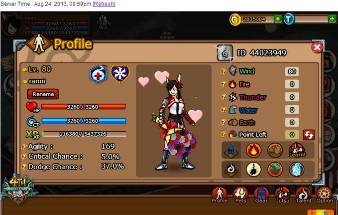 Ninja Saga adalah permainan online yang dapat dimainkan melalui jejaring sosial Facebook, MySpace, dan Orkut, permainan ini diciptakan dan dikembangkan oleh perusahaan pembuat permainan jejaring sosial, Emagist Entertainment Limited. Ninja Saga
