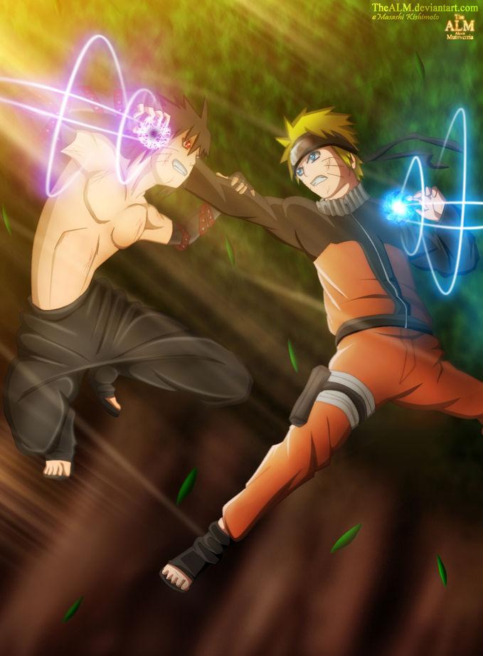 Naruto VS MENMA,klik wow nya dong