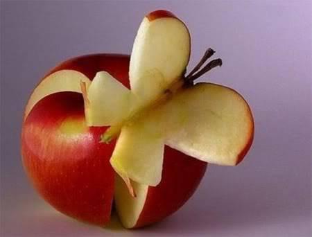 hebat ya visa bikin kupu2 dr apel