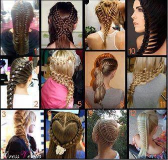 pilih gaya rambut kepang favoritmu ? :)