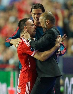 Ribery: Trofi Ini Untukmu, Pep WOW