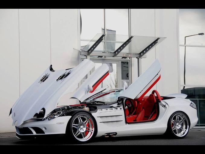 Mercedes-Benz SLR McLaren Wownya gan !!