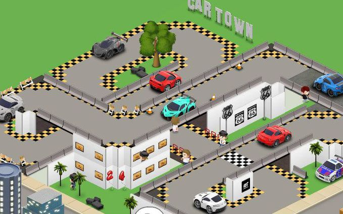 Nih Car Town gua !! kalo gk percaya add Fauzan Muhamad terus liat di garagenya
