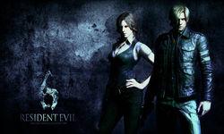karakter di resident evil 6 game