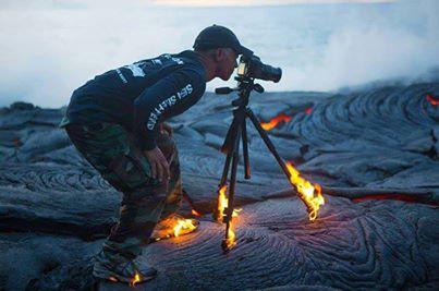 ayo cepetan di foto tuh lavanya, keburu badan ente kebakar...