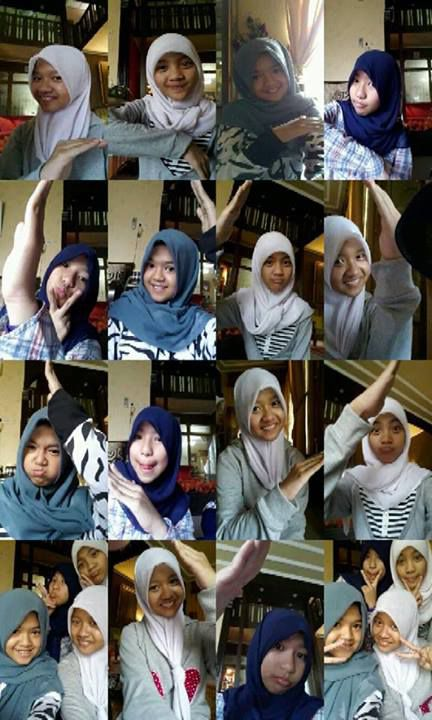 With BFF {} :D ;) :*