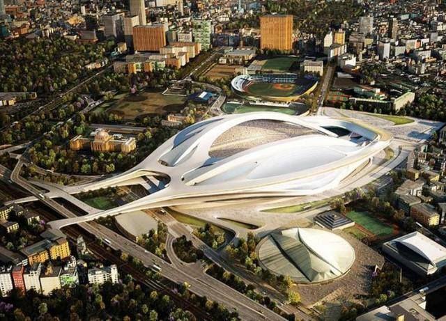 New Tokyo National Stadium dengan kapasitas 80.000 orang ini, direncanakan akan selesai dibangun pada tahun 2018, untuk dipakai menjadi tuan rumah Rugby World Cup 2019. Dan akan menjadi stadion utama untuk Olimpiade Tokyo 2020.