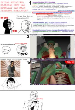 INSIDENT Surgeon simulator ... :) WOW nya yaaa