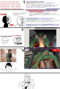 INSIDENT Surgeon simulator ... :) WOW nya yaaa