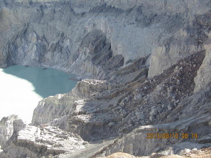 serunya hiking Gunung Ijen... enaknya rame rame