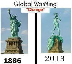 inilah dampang global warming, patung liberty sampe buka baju juga :D haha wow kalo lucu