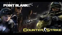 perbandingan antara COUNTER STRIKE dengan POINT BLANK Point blank (PB) adalah salah satu game yang saat ini sedang populer. Namun bukan cuma game ini saja yang sedang populer. Pesaing nya adalah Counter Strike Online (CSO). Keduanya memiliki pe