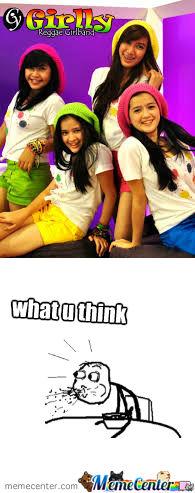 ternyata di indonesia ada girlband reggae WOW please!!!!!