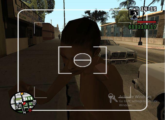 Game GTA nih emang dibilang GAME FOR ADULT... HAHAHAHA... dilihat lihat BH ny di leher .. wow nya brooooo