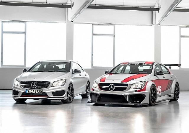 Mercedes CLA 45 AMG Racing Series Concept Hadir Di Frankfurt __________________________________________________ __ Mercedes mulai memperkenalkan entry-level customer racing league dan banyak yang mengharapkan CLA mempunyai one-make-racenya sendi