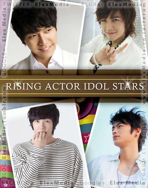Lee Seung Gi, Jang Keun Suk, Ji Hyun Woo, Soe In Guk. Dari prestasi musik dan drama! RISING ACTOR IDOL STARS http://ow.ly/oVUOR mobile http://ow.ly/oVUUg Harga: Rp. 75,000