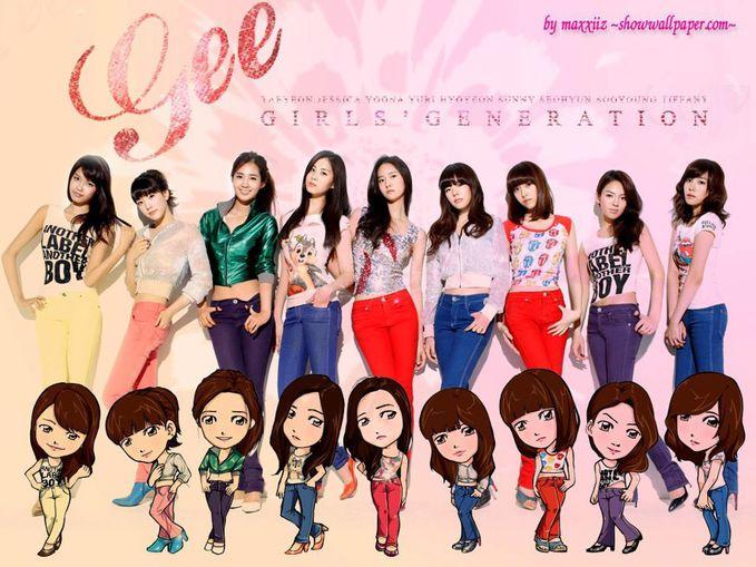 SNSD {GIRLS GENERATION } --- GEE