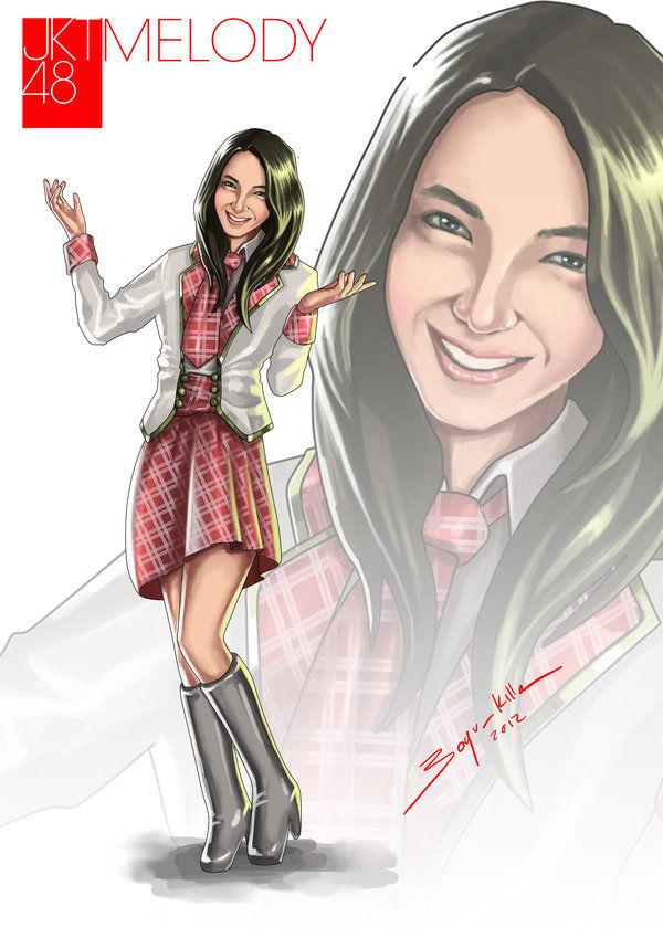 Melody jkt48 Fan Art