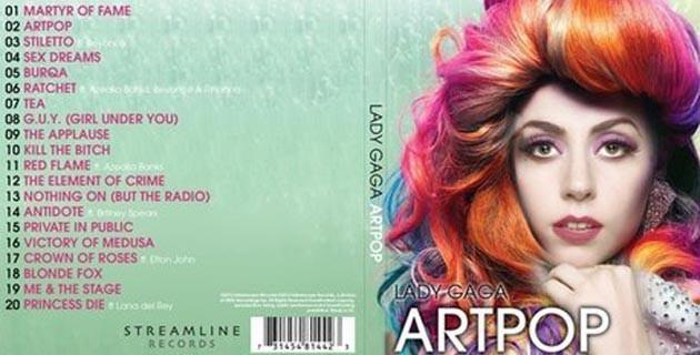 Lady Gaga: Sampul Album ARTPOP Adalah Favoritku! Lady Gaga mengomentari sampul albumnya yang terbaru, ARTPOP. Ia mengungkap desain cover album tersebut adalah yang paling ia sukai.