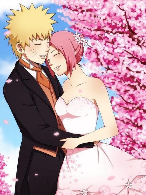 SIapa YAng Setuju Kalo Naruto Sama SaKura Married Setuju YG Setuju Klik WOW