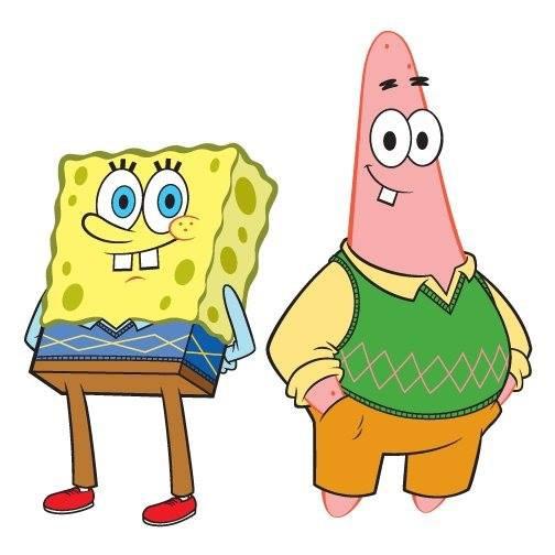 kenapa spongebob memakai baju yang bagus dan kenapa patrick memakai pakaian yang bagus kan petrick ga pernah pake baju