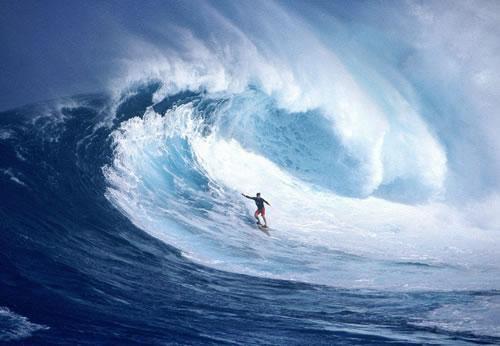 G-Land Banyuwangi merupakan tempat surfing terbaik di dunia setelah Hawaii.