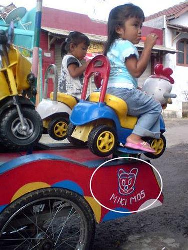 mickey mouse punya saudara di indonesia,, miki mos.. :D LOL