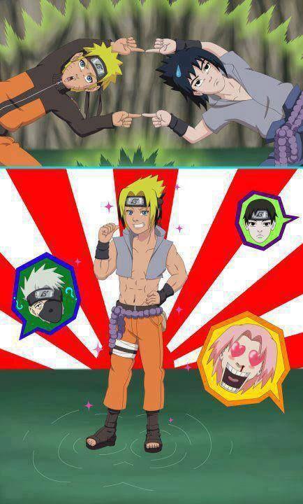 Naruto Fusion Sasuke