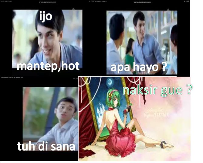 bitch please Gumi = (ijo,mantep,hot)