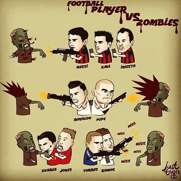 Football VS Zombie ^_^