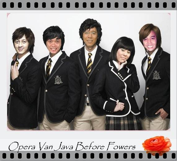 BOYS BEFORE FLOWER (2009) OPERA VAN JAVA BEFORE FOWERS (2013)