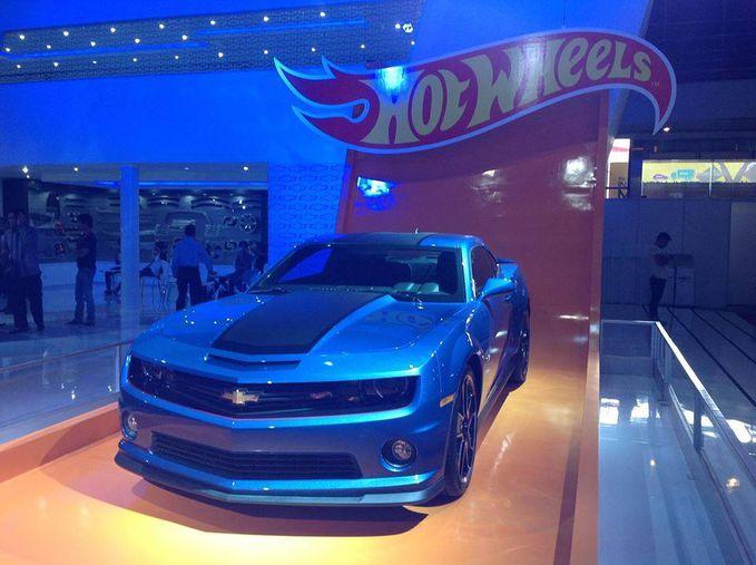 Mobil Hootwheels keluaran Chevrolet di ajang #IIMS2013..Its Soo Coooll.. Chevrolet Indonesia