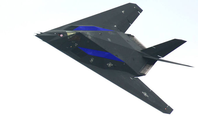 """real """" F-117 Nighthawk Stealth Fighter """""""