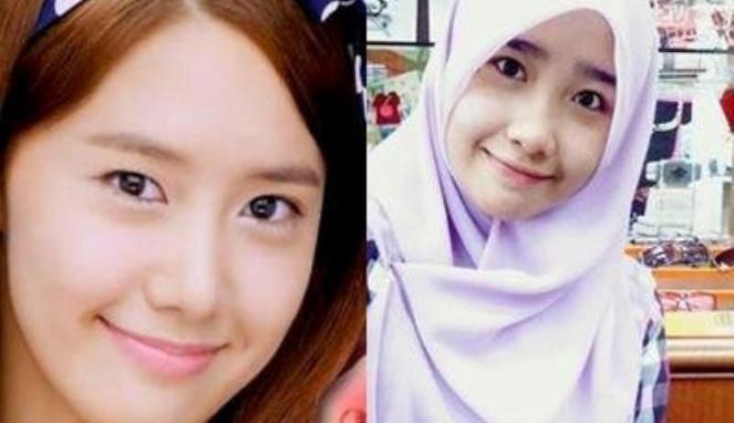 mirip banget sama YoonA Girls Generation yahh :D