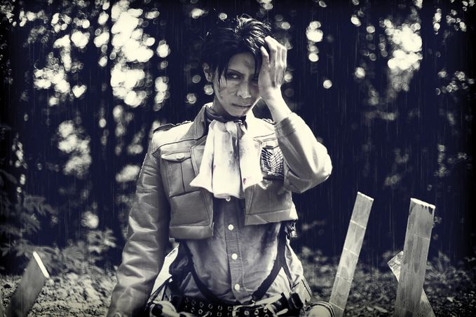 Levi | Rivaille (Shingeki no Kyojin) Cosplay by I3 Aimi Aimi Contact : http://www.cosp.jp/prof.aspx?id=187233 More Photos Visit here : http://cosplaymaniax.com/